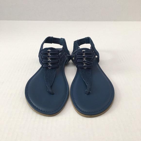 da5066af11db New Navy Blue Rouge Helium Sandals. M 5ac8f895d39ca2dd38525594
